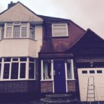 London Painter Decorators house exterior before paint job.