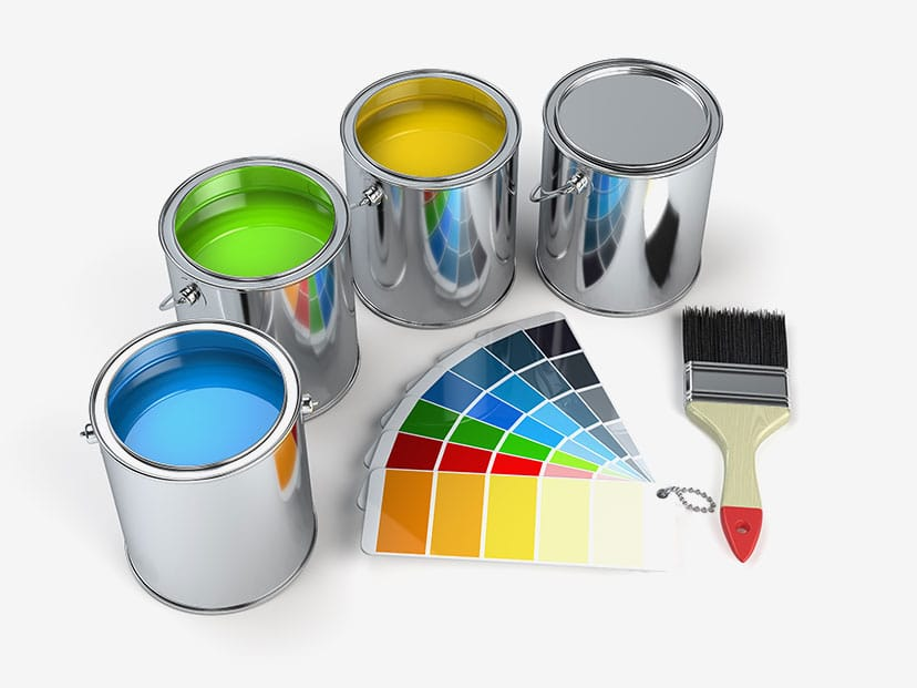 London Painter Decorators Ready To Paint Tins