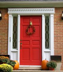 London Painter Decorators Red Door