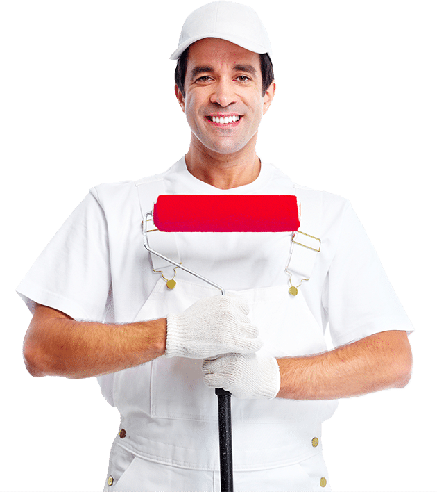 Painter from London Painter Decorators ready to start your project.